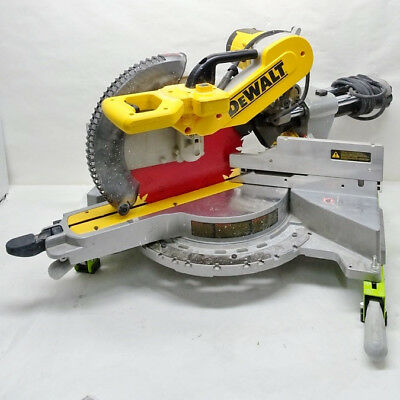"DeWALT DWS780 12"" Double Bevel Sliding Compound Miter Saw 8/B1910B"