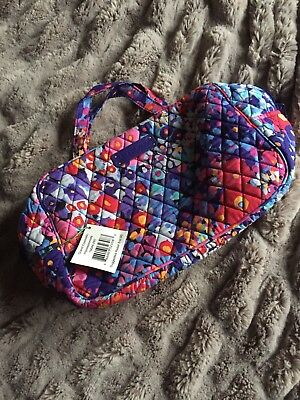 NEW Vera Bradley Impressionista Grand Cosmetic Makeup Bag New With Tags Floral