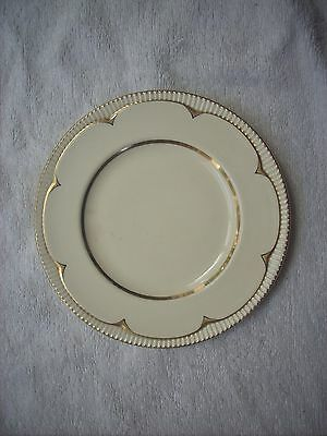 Clarice Cliff Newport Pottery Gilded Plate
