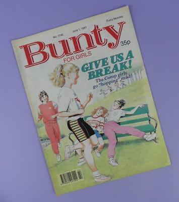 Bunty Comic Number 1742, June 1st 1991 Includes Billy Warlock Poster