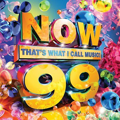 NOW THATS WHAT I CALL MUSIC 99 (Various Artists) 2 CD SET (2018)