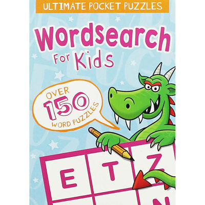 Pocket Wordsearch For Kids by Arcturus (Paperback), Children's Books, Brand New
