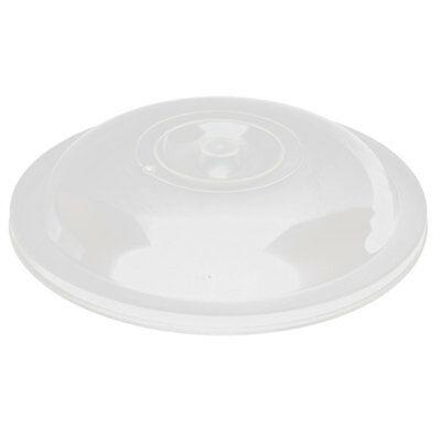 Home Kitchen Plastic Food Storage Plate Bowl Pan Container Lid Cover Clear White