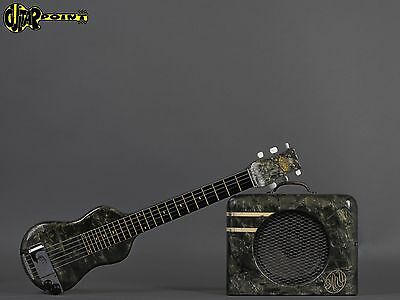 1940 Oahu Lapsteel + Matching Amp  - Green Pearloid  (Made in USA)
