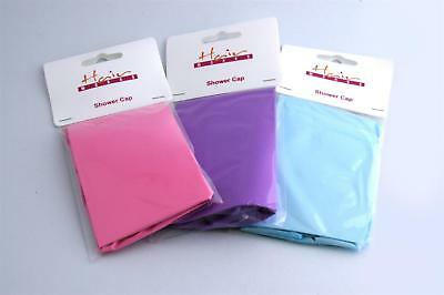 Hairworks Reusable PVC Shower Cap (Colour May Vary)