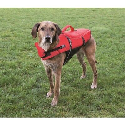 Trixie 30144 Swim Vest For Dogs L 54cm / Max. 36kg Red / Black - Dog 54cm Max
