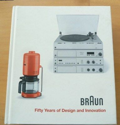 BRAUN - Fifty Years of Design and Innovation  Polster ,braun history 1921 - 2005