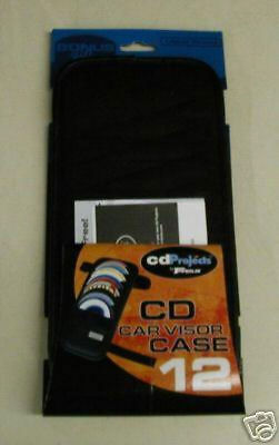 TARGUS CD PROJECTS CD CAR VISOR CASE HOLDS 12 CDs OR DVDs BETTER QUALITY