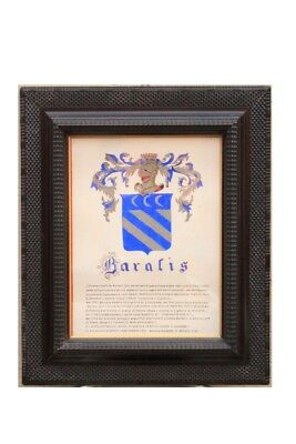 Frame from 'Early' 900 Wooden Ebonized with Decorations a Guilloches