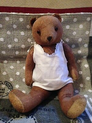 Alter Teddybär - Old Teddy Bear - Vintage - Antik Teddy Baer - Antique