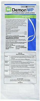 Demon Wp - Envelope 4 of 9.5g Packets -1 Envolopes Garden, Lawn, Supply,