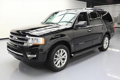 2017 Ford Expedition EL Limited Sport Utility 4-Door 2017 FORD EXPEDITION LIMITED ECOBOOST 8PASS SUNROOF 47K #A01339 Texas Direct