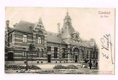 GARE STATION   TURNHOUT     cpa 2025