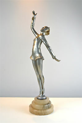Original antique Art Deco lady dancer figure Josef Lorenzl circa.1920's