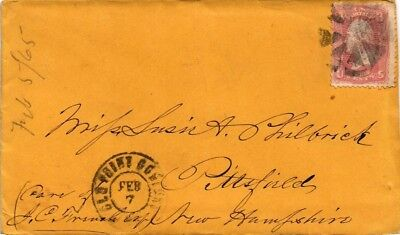 Dr Jim Stamps Us Nineteenth Century Postal History Ladies Cover Fancy Cancel