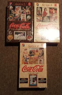 1994/95 3 Box Series 2,3,4 Coca Cola Collect-A-Card Factory Sealed Trading Cards