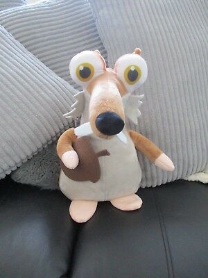 ice age Scrat the squirrel 11 inch app soft toy