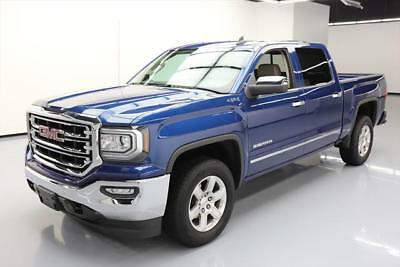 2017 GMC Sierra 1500 SLT Crew Cab Pickup 4-Door 2017 GMC Sierra 1500 4x4 SLT 4dr Crew Cab 5.8 ft. SB  #210305 Texas Direct Auto