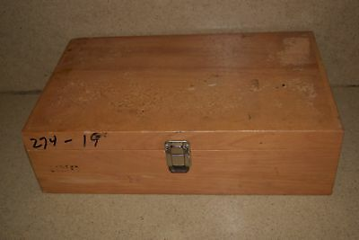 "++ Wood Hard Equipment Carrying Case - 15X9X2"" Inside (14N)"