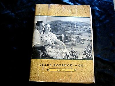 1937 spring & summer sears roebuck co catalog no. 174 , 964 pages , chicago