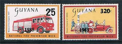Guyana 1985 Fire Prevention SG 1595/6 MNH