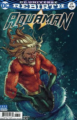 AQUAMAN #27 JOSH MIDDLETON VARIANT COVER UNDERWORLD part 3 MERA COMIC BOOK NEW 1