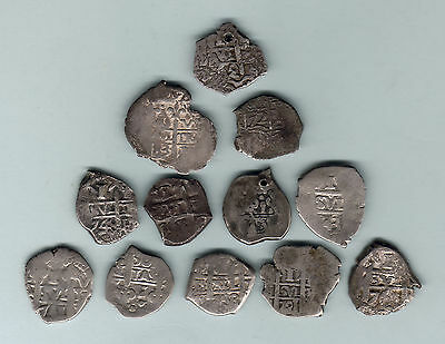 Bolivia. Silver Reales from 17th & 18th Century. Assort Dates/Assayers. VG-VF