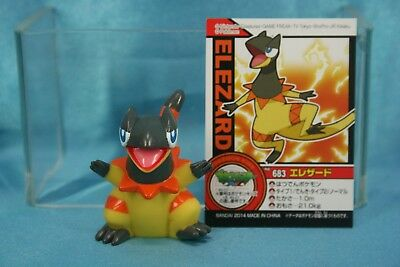 Bandai Pokemon The Series XY Kids Finger Puppets Vinyl Figure Heliolisk Elezard