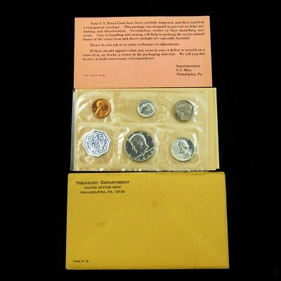 1964 US Mint Silver Proof Set Flat Pack w/COA & Envelope - 5 Coins Uncirculated