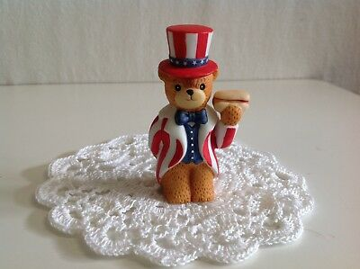 "Lucy And Me "" Uncle Sam With Holding Hotdog"" (Scarce) Lucy Rigg Enesco"
