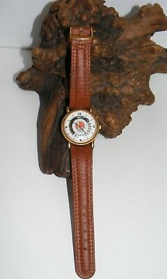 Vintage Lionel Railroad Moving Train Wrist Watch Collectible