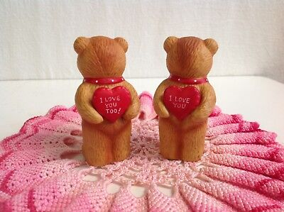 "Lucy And Me ""i Love You Red Hearts"" Love Bears Lucy Rigg Enesco."