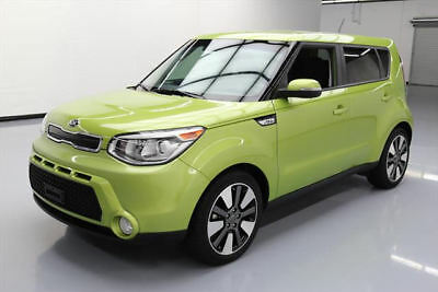 "2014 Kia Soul Exclaim Hatchback 4-Door 2014 KIA SOUL ! WAGON AUTO REARVIEW CAM 18"" WHEELS 40K #707471 Texas Direct Auto"