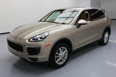 2016 Porsche Cayenne Base Sport Utility 4-Door 2016 PORSCHE CAYENNE AWD LEATHER NAVIGATION XENONS 20K #A05638 Texas Direct Auto