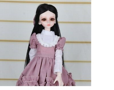 E12 1/4 Girl Super Dollfie Normal Skin Coordinate Model Fullset BJD Doll O