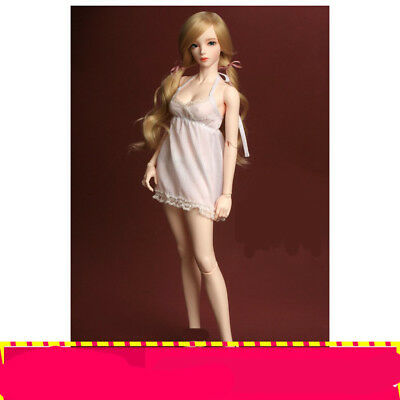 E04 1/3 Girl Super Dollfie Normal Skin Coordinate Model Fullset BJD Doll O