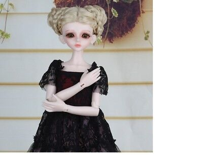 E14 1/4 Girl Super Dollfie Normal Skin Coordinate Model Fullset BJD Doll O
