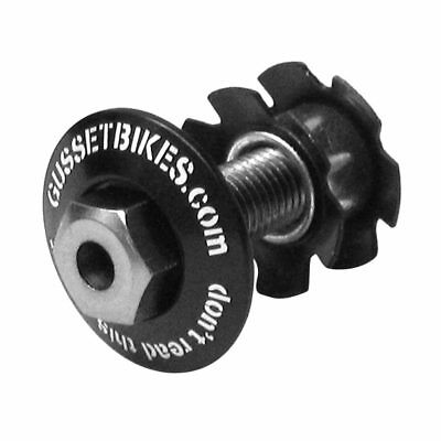 """Gusset Hole In Head Hollow BMX Star Nut and Cap 1 1/8""""   (no14)"""