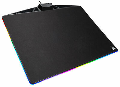 Corsair MM800 RGB POLARIS Cloth Edition, Schwarz, Mousepad, Mauspad Gaming Gamer