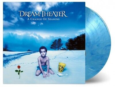 DREAM THEATER A Change Of Seasons 2 x 180gm BLUE/ WHITE Vinyl LP NEW & SEALED
