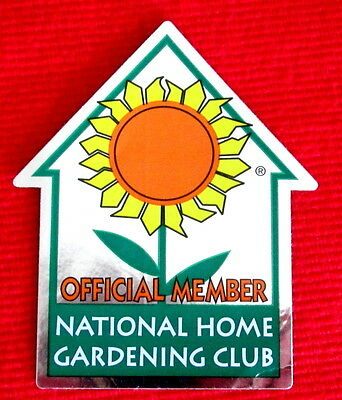 National Home Gardening Club Official Member decal msc