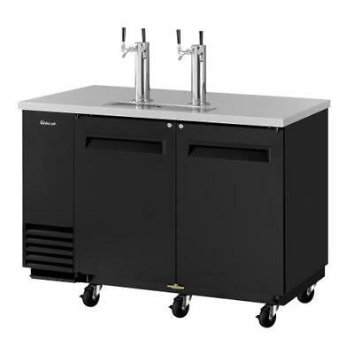 Turbo Air - TBD-2SB-N6 - 59 in Black Draft Beer Dispenser
