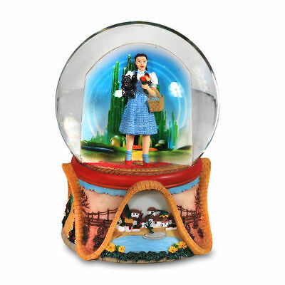 Wizard of Oz Dorothy in the Land of Oz 120mm Water Globe SF Music Box