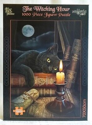 Nemesis Now 1000 Piece Jigsaw Puzzle - The Witching Hour - Lisa Parker Black Cat