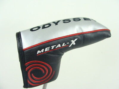 *new* Odyssey Metal X Bladed Putter Headcover
