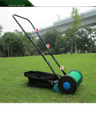 E01 Home Application Manual Push Handle Lawn Mower Clip Weeding Machine