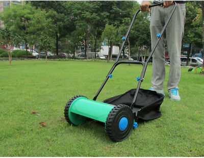 E02 Manual Push Handle Lawn Mower Clip Weeding Machine Home Application