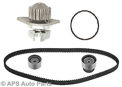 PEUGEOT 206 GTI 180 307 C4 2.016V TIMING BELT KIT TENSIONER GATES AND WATER PUMP