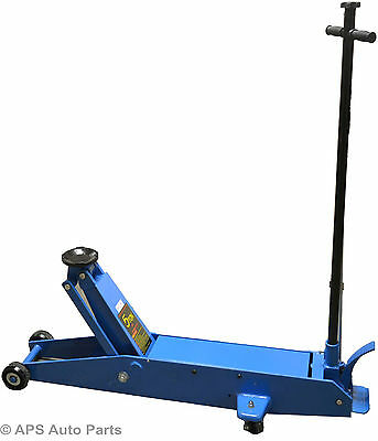 Heavy Duty 5 Ton Hydraulic Long Reach Trolley Floor Jack Car Caravan Van Jeep