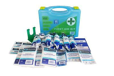 Qualicare HSE Premier First Aid Catering Kit with Wall Bracket (1-10 Person)